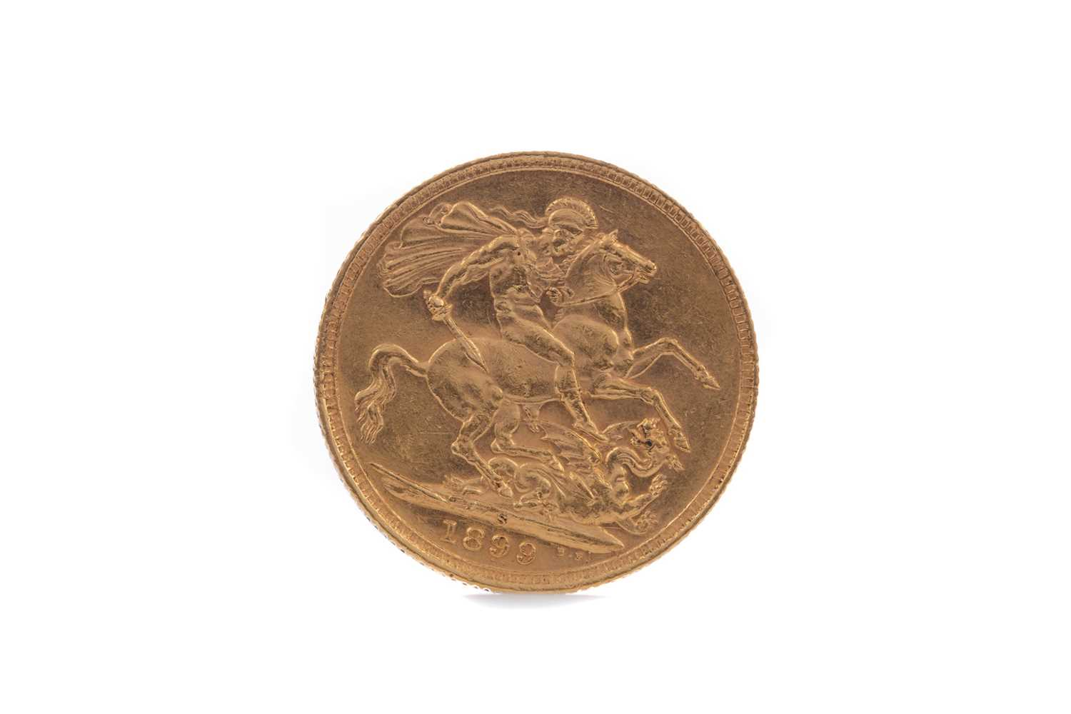Lot 6 - A VICTORIA GOLD SOVEREIGN DATED 1899