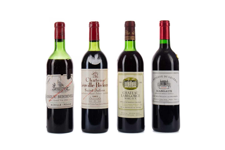 Lot 91 - FOUR BOTTLES OF BORDEAUX WINE