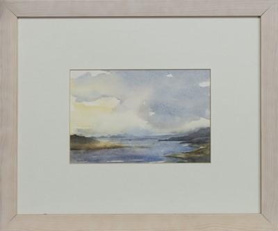Lot 531 - GRUINARD ISLAND AND THE SUMMER ISLES, A WATERCOLOUR BY ROBERT JAMES HOWARD