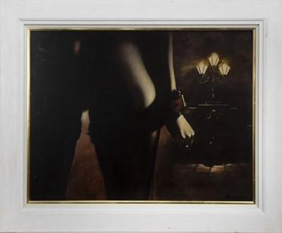 Lot 548 - AN UNTITLED OIL BY BILL BLACKWOOD