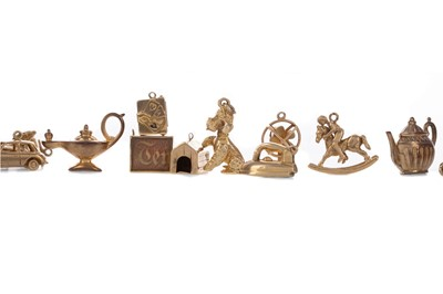 Lot 1565 - A COLLECTION OF CHARMS