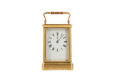 Lot 1113 - A VICTORIAN CARRIAGE TIMEPIECE
