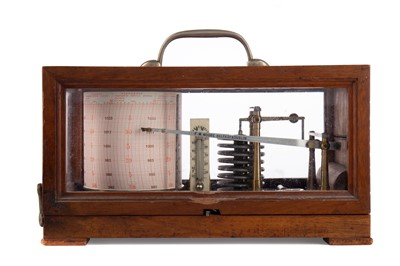 Lot 1114 - A BAROGRAPH BY F. M. MOORE OF BELFAST AND DUBLIN
