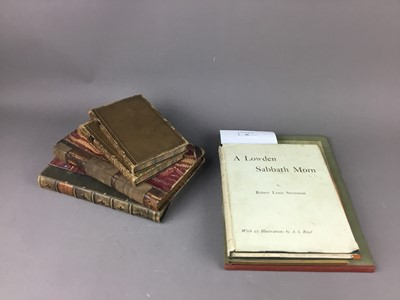 Lot 58 - A COLLECTION OF ANTIQUARIAN AND OTHER BOOKS