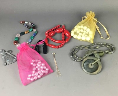 Lot 16 - A LARGE COLLECTION OF COSTUME AND OTHER JEWELLERY