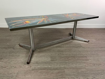 Lot 817 - A 1970S COFFEE TABLE