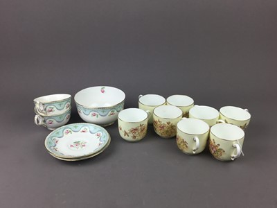 Lot 41 - A LOT OF TEA SERVICES AND OTHER CERAMICS