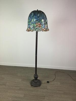 Lot 853 - A STANDARD LAMP