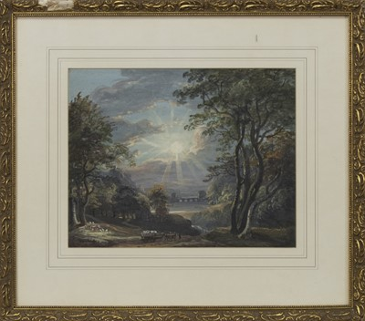 Lot 414 - THE PATH, AN OIL ATTRIBUTED TO SAM BOUGH