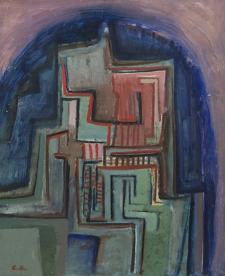 Lot 426 - AN UNTITLED OIL BY ALFREDO AVELLA