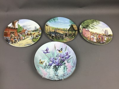 Lot 39 - A COLLECTION OF TWENTY FIVE CABINET PLATES