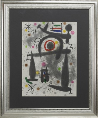 Lot 437 - A PAIR OF LITHOGRAPHS BY JOAN MIRO