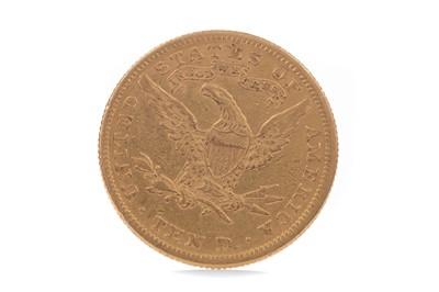 Lot 11 - A GOLD AMERICAN TEN DOLLAR COIN