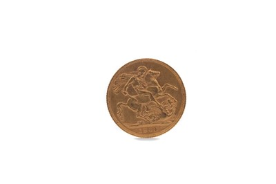 Lot 12 - AN EDWARD VII GOLD SOVEREIGN DATED 1903