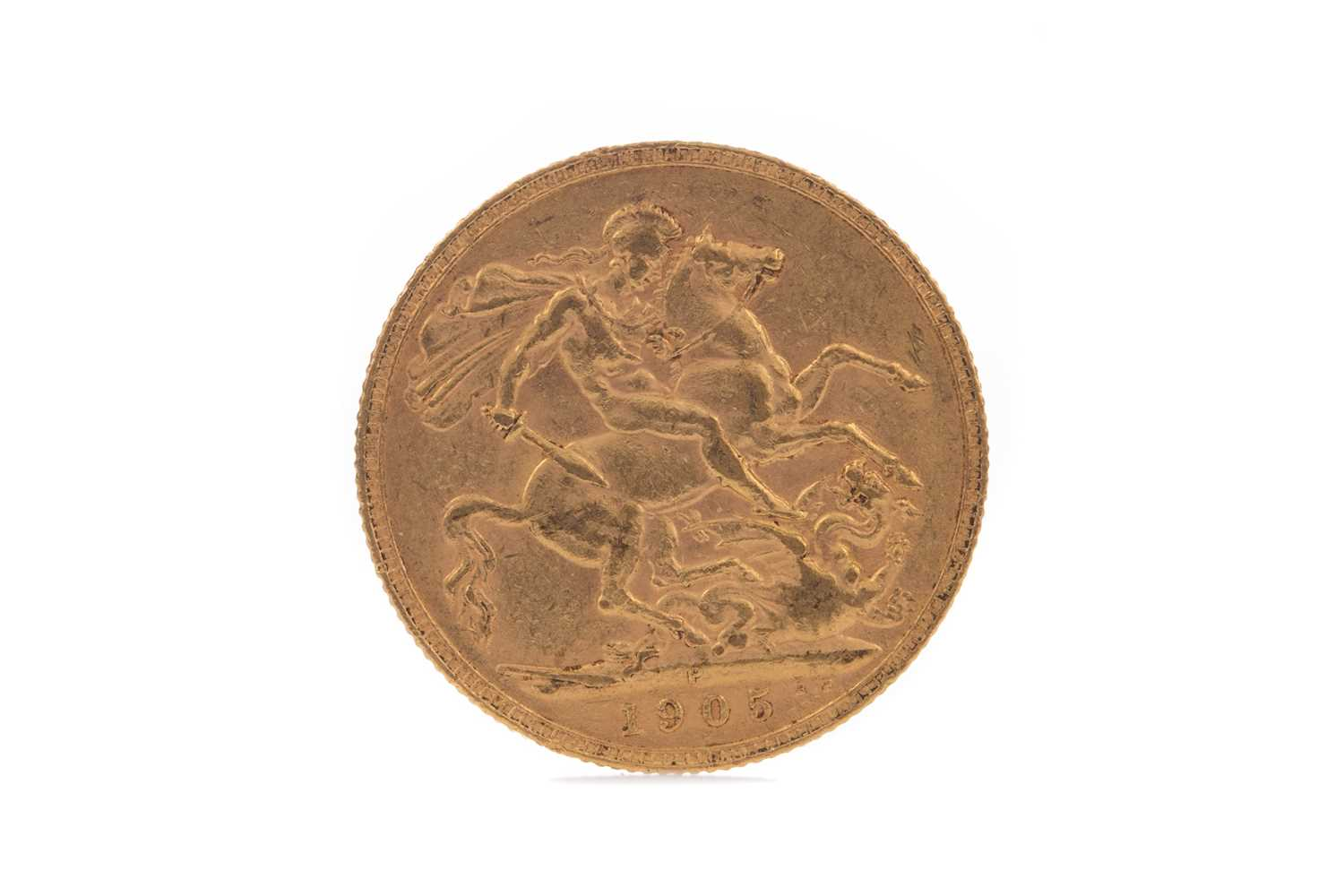 Lot 15 - AN EDWARD VII GOLD SOVEREIGN DATED 1905