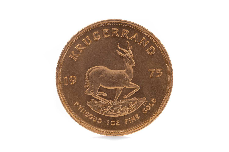 Lot 50 - A GOLD KRUGERRAND DATED 1975