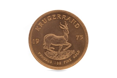 Lot 63 - A GOLD KRUGERRAND DATED 1975