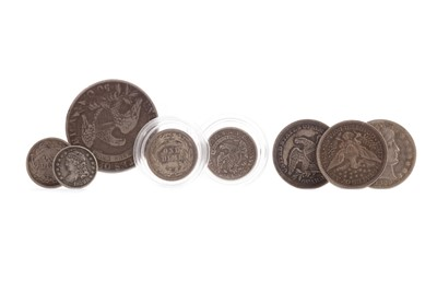 Lot 68 - A COLLECTION OF AMERICAN SILVER COINS