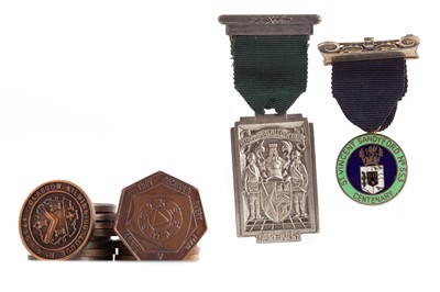 Lot 1309 - A COLLECTION OF MASONIC MEDALLIONS