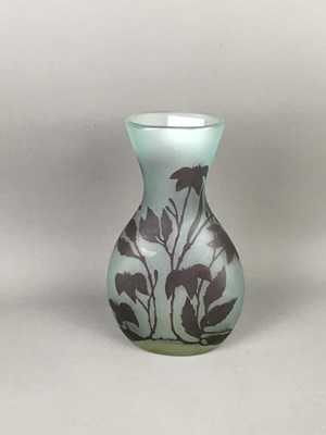 Lot A CAMEO GLASS VASE