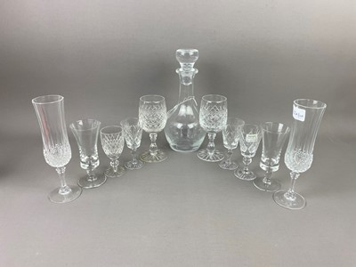 Lot A LOT OF CRYSTAL AND GLASS WARE