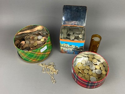 Lot A LOT OF VARIOUS COINS