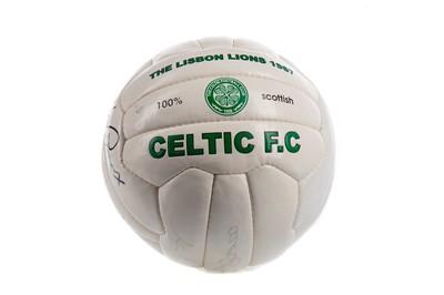 Lot 1706 - CELTIC F.C. INTEREST - LISBON LIONS COMMEMORATIVE FOOTBALL