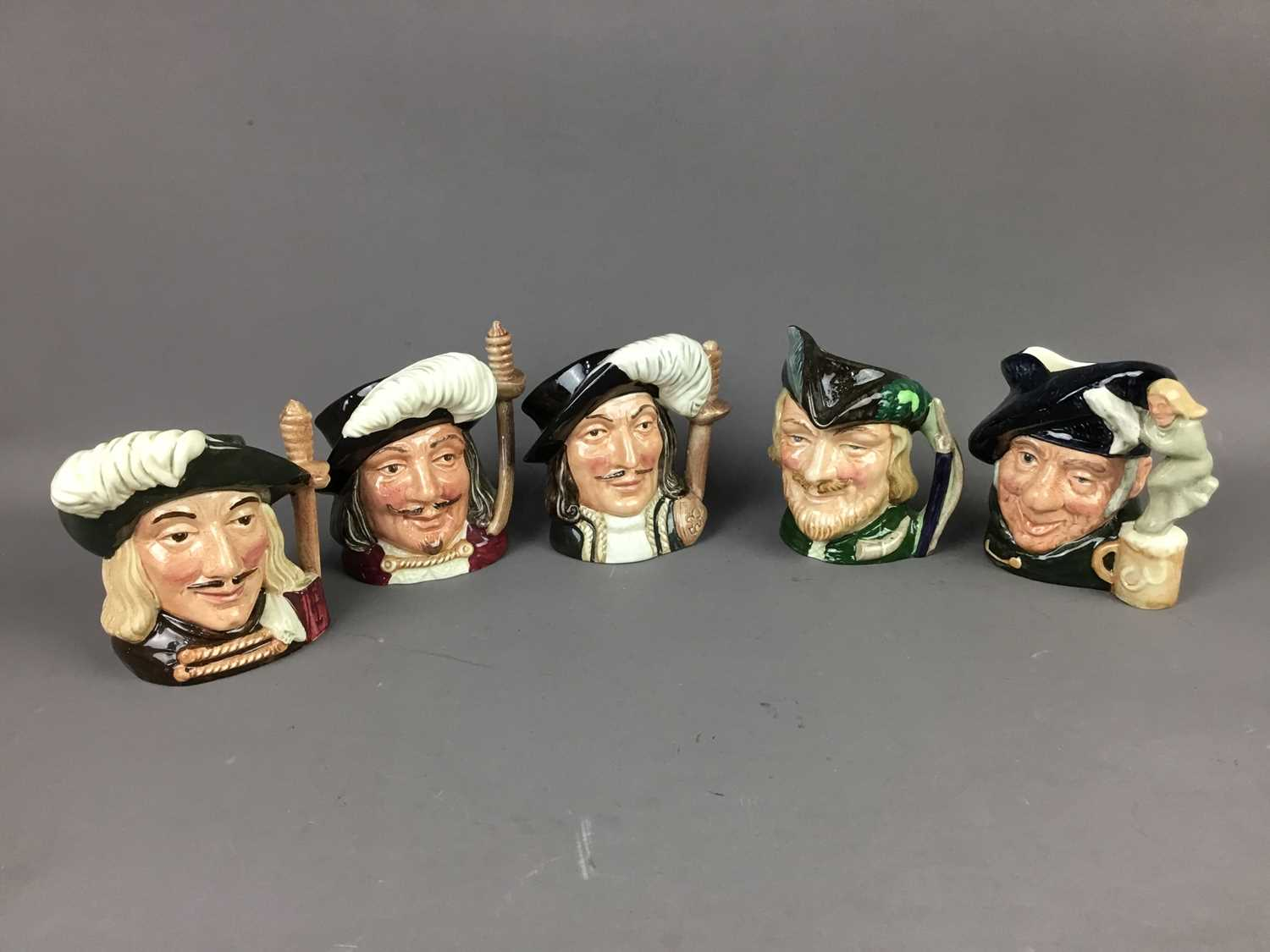 Lot 531 - A COLLECTION OF ROYAL DOULTON CHARACTER JUGS