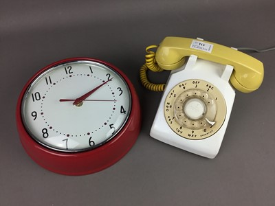 Lot A VINTAGE TELEPHONE AND OTHER ITEMS