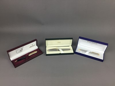 Lot A CROSS FOUNTAIN PEN AND TWO OTHERS
