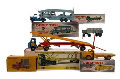 Lot 1314 - SEVEN DINKY MODELS