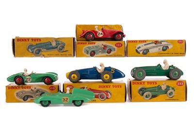 Lot 1318 - EIGHT DINKY MODELS