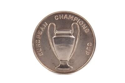 Lot 1752 - A CELTIC FOOTBALL CLUB EUROPEAN CUP 1967 SILVER MEDAL