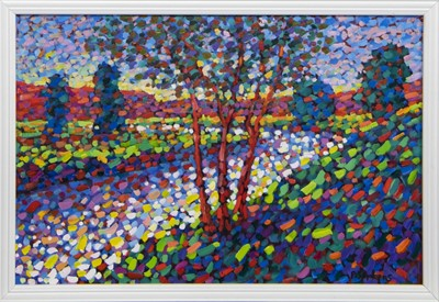 Lot 448 - SUMMERS DAY, AN OIL BY PAUL STEPHENS