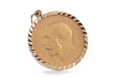 Lot 82 - A GEORGE V GOLD SOVEREIGN DATED 1912