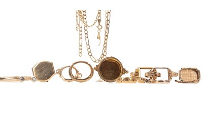 Lot 429 - A COLLECTION OF WATCH CASES AND OTHER ITEMS