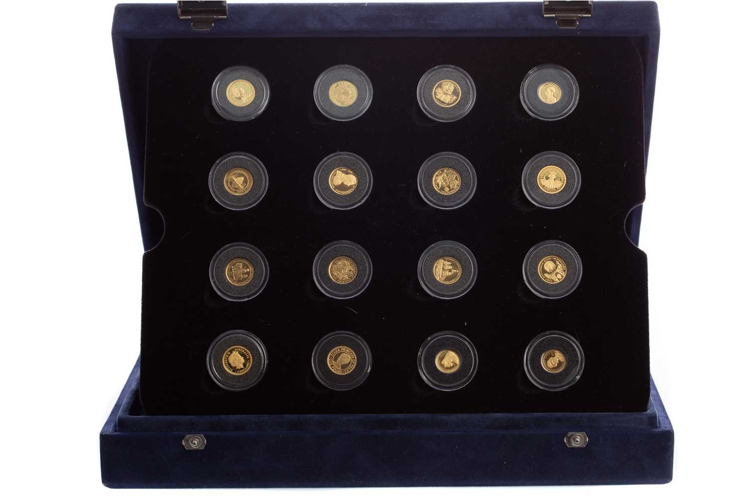 Lot 85 - THE WORLD'S SMALLEST GOLD COINS