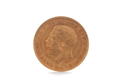Lot 86 - A GEORGE V GOLD HALF SOVEREIGN DATED 1911