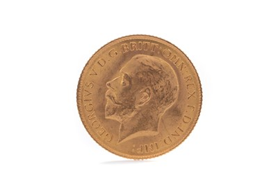 Lot 88 - A GEORGE V GOLD HALF SOVEREIGN DATED 1914