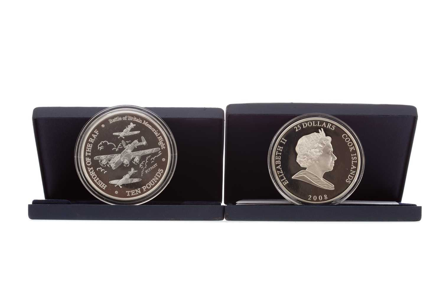 Lot 89 - TWO SILVER 5OZ COINS
