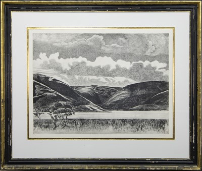 Lot 454 - LATE AFTERNOON, ST MARY'S LOCH, A LIMITED EDITION PRINT