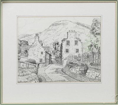Lot 458 - KINNESSWOOD, AN INK BY JAMES DOUGLAS