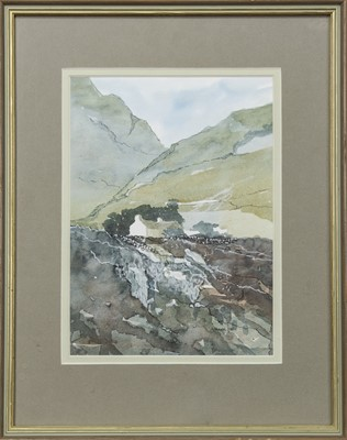 Lot 464 - CROFT, A MIXED MEDIA BY ALISTAIR HACKSTON