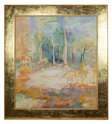 Lot 566 - PALUMA CAMPSITE III, AN OIL BY JAMES BROWN