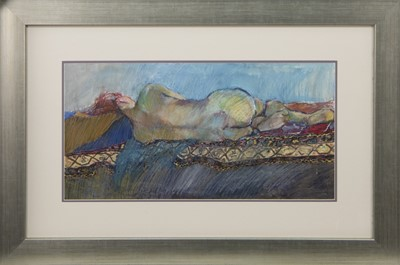 Lot 473 - AN UNTITLED MIXED MEDIA BY ELEANOR JONES