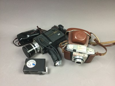 Lot 71 - A COLLECTION OF CAMERAS