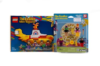 Lot 1333 - A LEGO 'THE BEATLES YELLOW SUBMARINE' 21306 SET