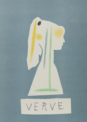 Lot 468 - VERVE BOOK, FRONT COVER, AFTER PABLO PICASSO