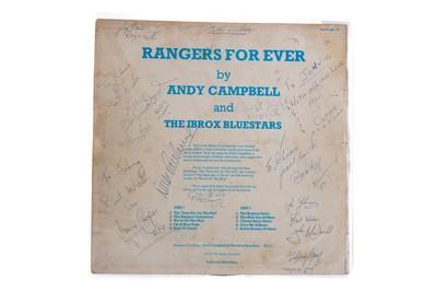 Lot 1711 - 'RANGERS FOREVER' LP RECORD