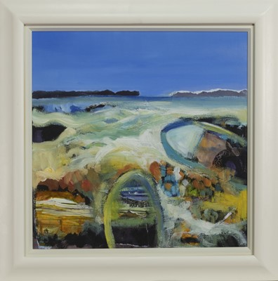 Lot 642 - SAFE HARBOUR, A MIXED MEDIA BY MAY BYRNE